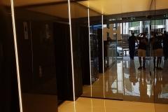 Szklane okładziny na ściane